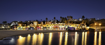 Colored Houses, Capitola, CA